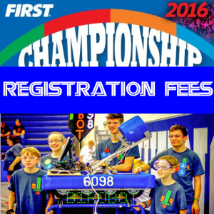 FIRST Registration Fees Logo